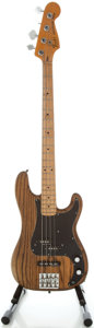 Musical Instruments:Bass Guitars, 1978 Fender Precision Bass Refinished Electric Bass Guitar, Serial #S895127....