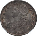 Bust Half Dollars: , 1830 50C Small 0 MS60 NGC. NGC Census: (7/444). PCGS Population(12/287). Mintage: 4,764,800. Numismedia Wsl. Price for pro...
