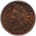 Proof Indian Cents: , 1884 1C PR66 Red and Brown PCGS. Ex: Eagle Eye Photo Seal. PCGS Population (43/16). NGC Census: (53/10). Mintage: 3,942. Nu...