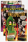 Silver Age (1956-1969):Horror, Tales of the Unexpected Group (DC, 1958-64) Condition: AverageVG+.... (Total: 7 Comic Books)