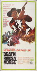 """Movie Posters:Western, Death Rides a Horse (United Artists, 1968). Three Sheet (41"""" X81""""). Western.. ..."""