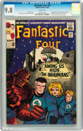 Silver Age (1956-1969):Superhero, Fantastic Four #45 Curator pedigree (Marvel, 1965) CGC NM/MT 9.8White pages....