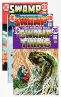 Bronze Age (1970-1979):Horror, Swamp Thing #1-10 Group (DC, 1972-74) Condition: Average FN/VF....(Total: 10 Comic Books)