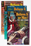 Bronze Age (1970-1979):Horror, Ripley's Believe It Or Not - File Copy Group (Gold Key, 1969-80)Condition: Average VF+.... (Total: 58 Comic Books)