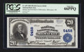 National Bank Notes:Wisconsin, Milwaukee, WI - $20 1902 Plain Back Fr. 659 The Marine NB Ch. # 5458. ...