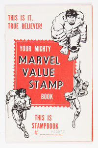 Marvel Value Stamp Book (Marvel, 1974) Condition: Qualified NM-