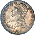 Bust Half Dollars, 1834 50C Large Date, Small Letters MS64 PCGS. O-108, R.2....