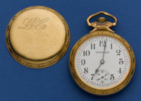 South Bend Studebaker 21 Jewel Pocket Watch