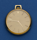 Timepieces:Pocket (post 1900), Rolex Gold Cellini Pocket Watch. ...