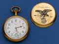 Timepieces:Pocket (post 1900), Illinois Santa Fe Special 21 Jewel Pocket Watch. ...