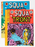 Magazines:Fanzine, Squa Tront #1 and 2 Group (Jerry Weist, 1967) Condition: Average VF/NM.... (Total: 2 Items)