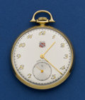 Timepieces:Pocket (post 1900), Lord Elgin 21 Jewel 12 Size 14k Gold Pocket Watch. ...