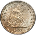 Seated Quarters, 1879 25C MS66 PCGS. CAC....