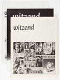 Magazines:Fanzine, Witzend Group (Wally Wood, 1966-76) Condition: Average FN/VF.... (Total: 7 Items)