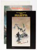 Memorabilia:Miscellaneous, Frank Frazetta Related Group (Various Publishers, 1970s-90s) Condition: Average VG.... (Total: 24 Items)