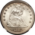 Seated Quarters, 1881 25C MS65 NGC....