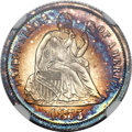 Proof Seated Dimes, 1875 10C PR68 ★ Cameo NGC....