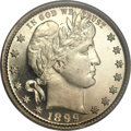 Proof Barber Quarters, 1899 25C PR67 PCGS. CAC....