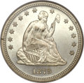 Seated Quarters, 1879 25C MS67 NGC....