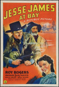 """Movie Posters:Western, Jesse James at Bay (Republic, 1941). One Sheet (27"""" X 41""""). Western.. ..."""