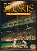 """Baseball Collectibles:Publications, August 16, 1954 """"Sports Illustrated."""" The First Issue. ..."""