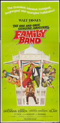 "Movie Posters:Musical, The One and Only, Genuine, Original Family Band and Other Lot (Buena Vista, 1968). Three Sheets (2) (41"" X 81""). Musical.. ... (Total: 2 Items)"