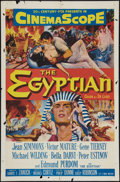 "Movie Posters:Historical Drama, The Egyptian (20th Century Fox, 1954). One Sheet (27"" X 41"").Historical Drama.. ..."