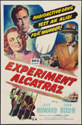 "Movie Posters:Mystery, Experiment Alcatraz (RKO, 1950). One Sheet (27"" X 41""). Mystery....."