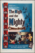 "Movie Posters:Adventure, The High and the Mighty (Warner Brothers, 1954). One Sheet (27"" X 41""). Adventure.. ..."