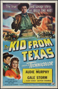 """Movie Posters:Western, The Kid from Texas (Universal International, 1949). One Sheet (27"""" X 41""""). Western.. ..."""