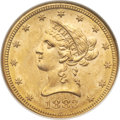 Liberty Eagles, 1883 $10 MS64 NGC....