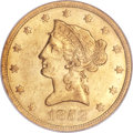 Liberty Eagles, 1852 $10 MS60 NGC....