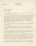 Basketball Collectibles:Others, Basketball Hall of Famers Signed Letters to Hellen Naismith Dodd.Terrific content and legendary names tell the story here,...