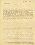 Basketball Collectibles:Others, 1918 James Naismith Typed Signed Letter with Mailing Envelope..Date: November 12, 1918.. Location: Paris, France.. Le...