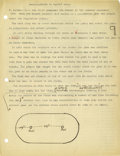 Basketball Collectibles:Others, 1930's James Naismith Typed Manuscript Pages with HandwrittenNotes, Drawings (12). Early draft manuscript is believed to b...