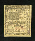 Colonial Notes:Delaware, Delaware January 1, 1776 20s Very Choice New. A near gem examplefrom this popular Delaware issue that has good margins, bol...