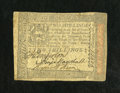 Colonial Notes:Pennsylvania, Pennsylvania October 1, 1773 2s Very Fine. A very nice example forthe grade which appears to be totally problem free....