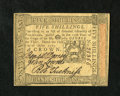Colonial Notes:Pennsylvania, Pennsylvania October 1, 1773 5s Gem New. A wonderfully marginedexample of this popular issue that has three bold signatures...