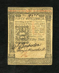 Colonial Notes:Pennsylvania, Pennsylvania October 1, 1773 50s Choice New. A very nice example ofthis highest denomination example that has great print q...