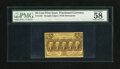 Fractional Currency:First Issue, Fr. 1281 25c First Issue PMG Choice About Unc 58EPQ. Bright paper and bold ink colors are found on this seemingly uncirculat...