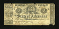 Obsoletes By State:Arkansas, (Little Rock), AR- Arkansas Treasury Warrant $2 Feb. 20, 1862. A couple edge splits are noted, but do not distract from the ...