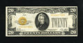 Small Size:Gold Certificates, Fr. 2402 $20 1928 Gold Certificate. Very Fine.. The paper is a tidbit flat, though the overall appearance is still pleasing....
