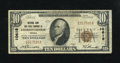 National Bank Notes:Virginia, Charlottesville, VA - $10 1929 Ty. 1 NB & TC Ch. # 10618. Apleasing piece that is wholly original and solidly margined....