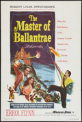 "Movie Posters:Swashbuckler, The Master of Ballantrae (Warner Brothers, 1953). One Sheet (27"" X41""). Swashbuckler.. ..."