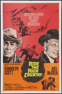 """Ride the High Country (MGM, 1962). One Sheet (27"""" X 41""""). Western"""