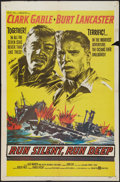"Movie Posters:War, Run Silent, Run Deep (United Artists, 1958). One Sheet (27"" X 41"").War.. ..."