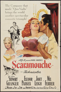 """Scaramouche (MGM, 1952). One Sheet (27"""" X 41""""). Swashbuckler"""