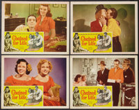 """Chained for Life (Classic Pictures, 1951). Lobby Cards (4) (11"""" X 14""""). Exploitation. ... (Total: 4 Items)"""