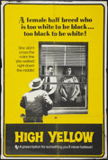 """Movie Posters:Exploitation, High Yellow (Thunder Pictures, 1965 & R-1969). One Sheet (27"""" X41"""") & Photos (10) (8"""" X 10""""). Exploitation.. ... (Total: 11Items)"""