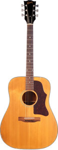 Musical Instruments:Acoustic Guitars, 1976 Gibson J-45/50 Natural Acoustic Guitar, Serial #00171920. ...